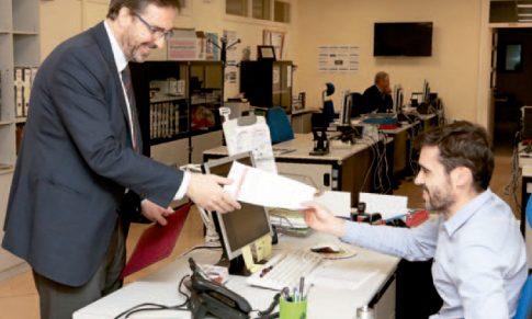 La candidatura de Juan Gómez, la única presentada a las elecciones a rector de la UJA