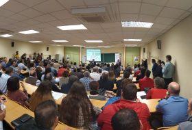 Juan Gómez Ortega ha presentado oficialmente su candidatura al Rectorado de la Universidad de Jaén