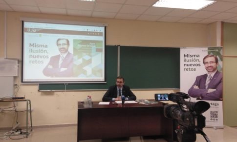 Juan Gómez trabajará para que la UJA siga como motor de la provincia
